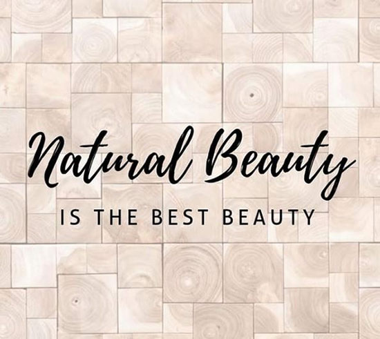 Natural Beauty is the best beauty