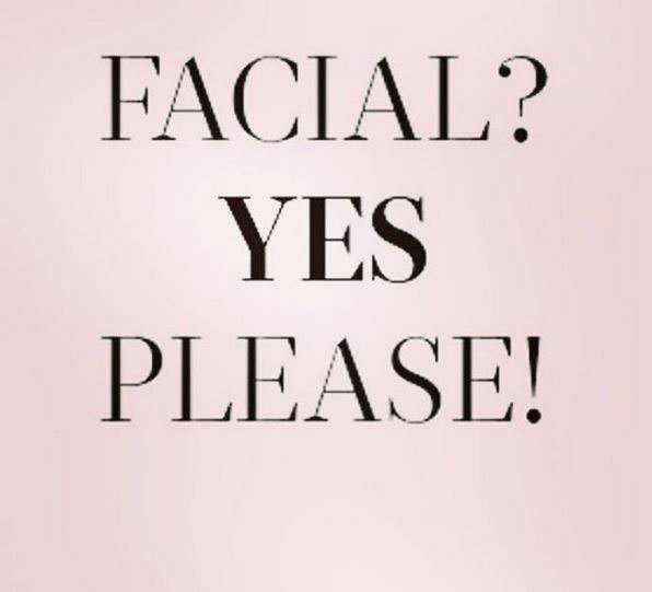 Watch Instagram Video: Facial? Yes Please!
