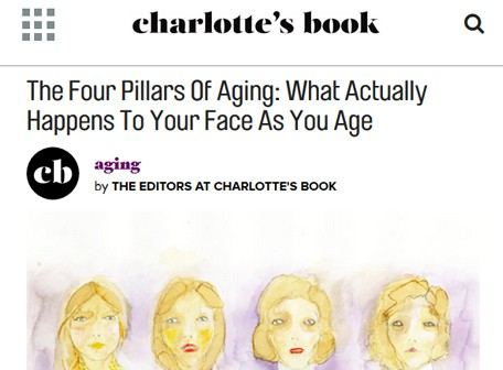 charlottesbook - The four pillars of Aging: What Actually Happens to your face as you age