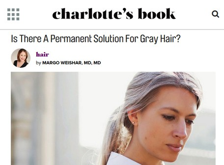 charlottesbook - is there a permanent solution for Gray hair?