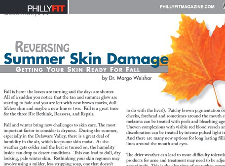Reversing Summer Skin Damage - Phillyfit