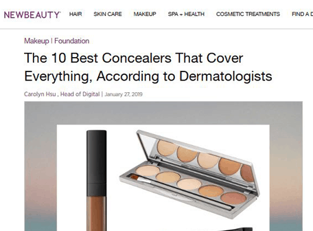 NEW BEAUTY - The 10 best concealers that cover everuthing, according to dermatologists