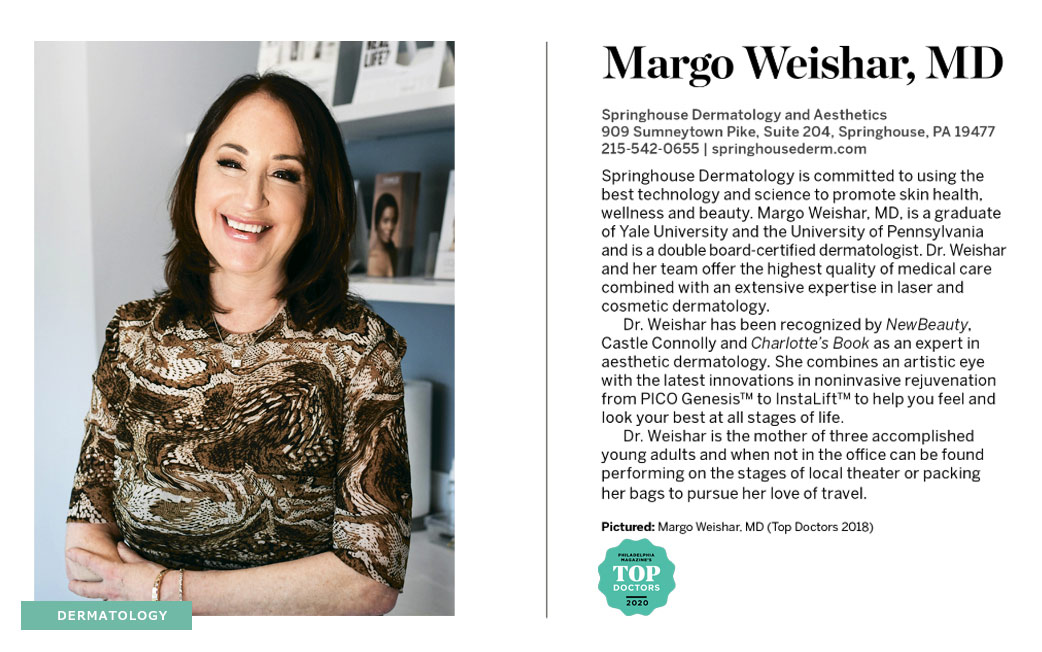 Dr. Margo Weishar Top Doctors 2018